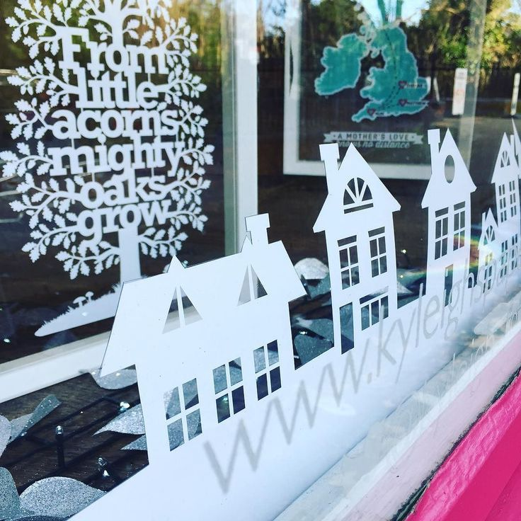 It's Christmas window day! Literally just making it up as I go. Paper fishing wire glitter what's not to love?  #christmaswindowdisplay #windowdisplay #visualmerchandising #papercutwindowdisplay #papercut #papercutting #creativebiz #livecreatively #makersgonnnamake #craftsposure #notonthehighstreetseller #etsyseller #noths #shopsmall