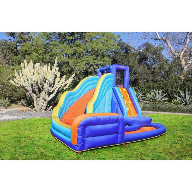 Inflatable Water Slide Usa: Best 25+ Inflatable Water Slides Ideas On Pinterest