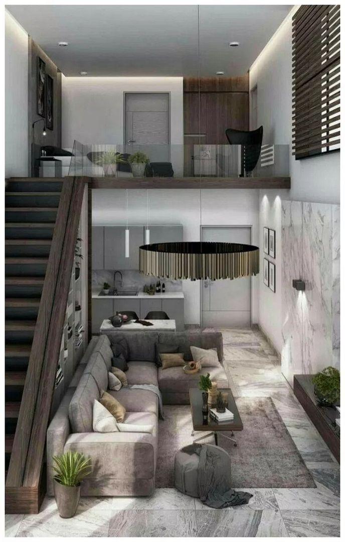 99 Fabouls Modern House Interior Ideas That You Must See 85 Ide Apartemen Desain Rumah Desain Interior