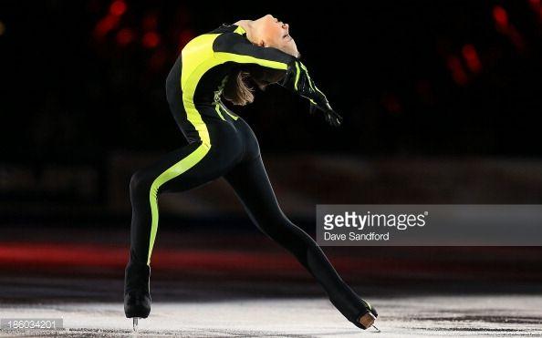 SAINT JOHN, NB - OCTOBER 27: Julia Lipnitskaia of Russia skates during the gala exhibition on day three at the ISU GP 2013 Skate Canada International at Harbour Station on October 27, 2013 in Saint John, New Brunswick, Canada. (Photo by Dave Sandford/Getty Images)