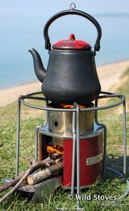 EzyStove | Wood-fuelled Camp Cooking | Rocket stove cookers | Wild Stoves
