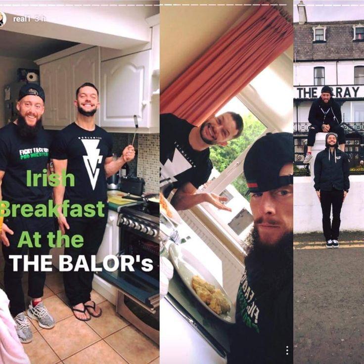 Finn Balor & Enzo Amore