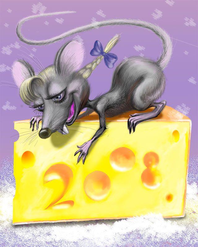 Смешные рисунки мышей и крыс
