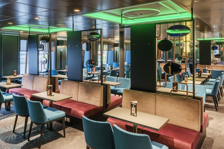 Pub Restaurant design at Tallink megastar ferry