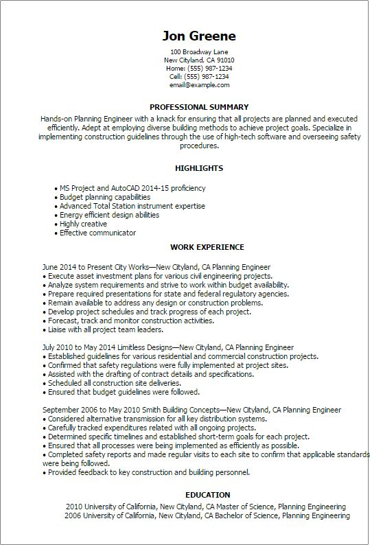 Resume Intext Senior Energy Engineer - Vision professional