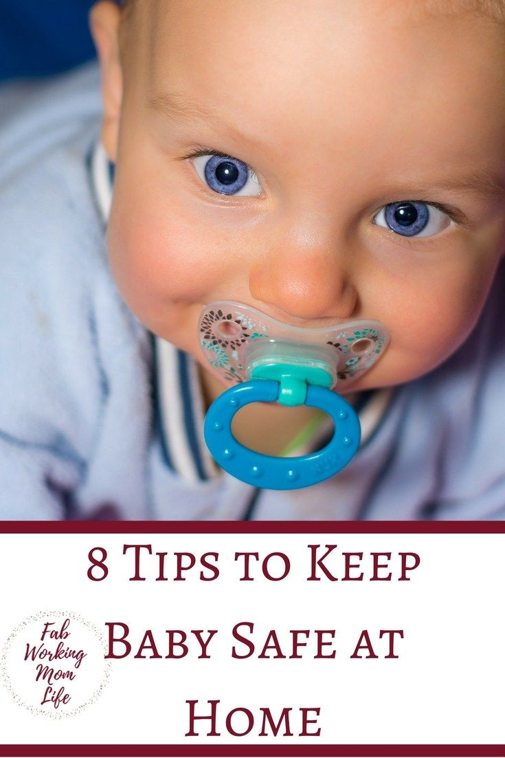 8 Tips To Keep A Baby Safe At Home