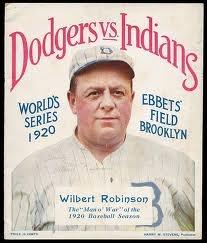 1920 World Series - Dodgers vs Indians