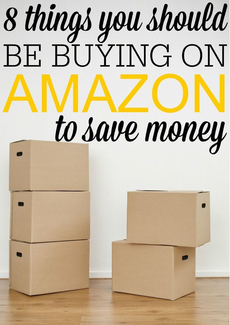 8 things you should be buying on amazon to save waystobefrugal rh pinterest com