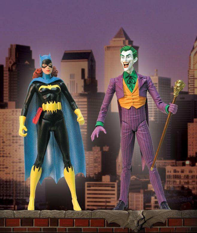 DC Direct Joker And Batgirl