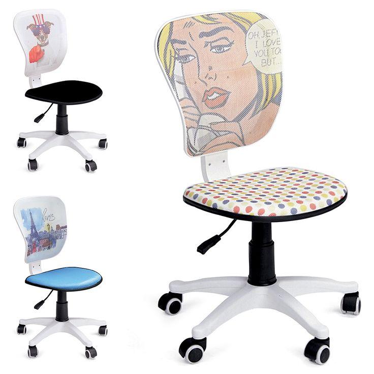 Sedia con ruote Comix altezza regolabile in tessuto