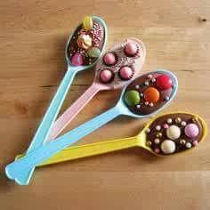 Choc spoons