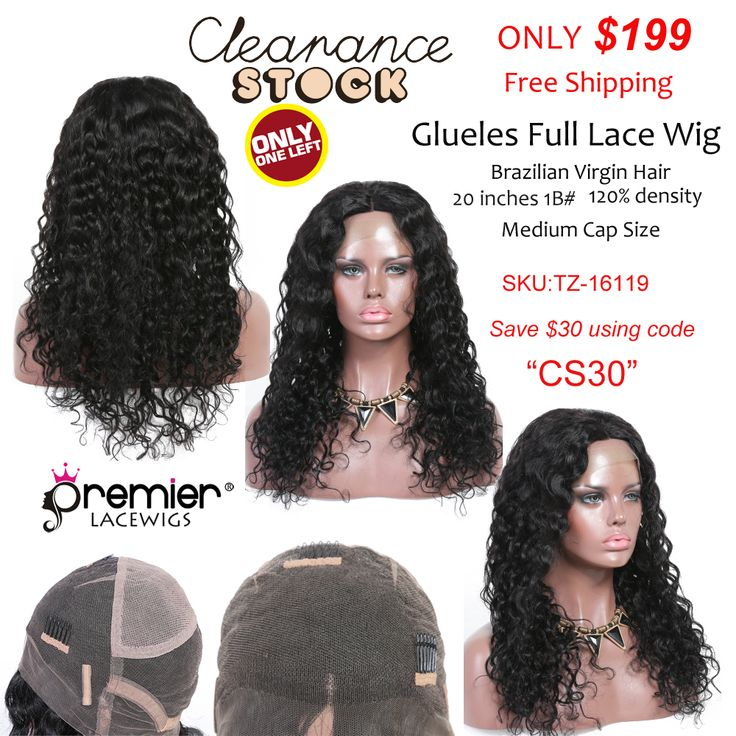 premierlacewigs clearancesale Clearance Glueless Full