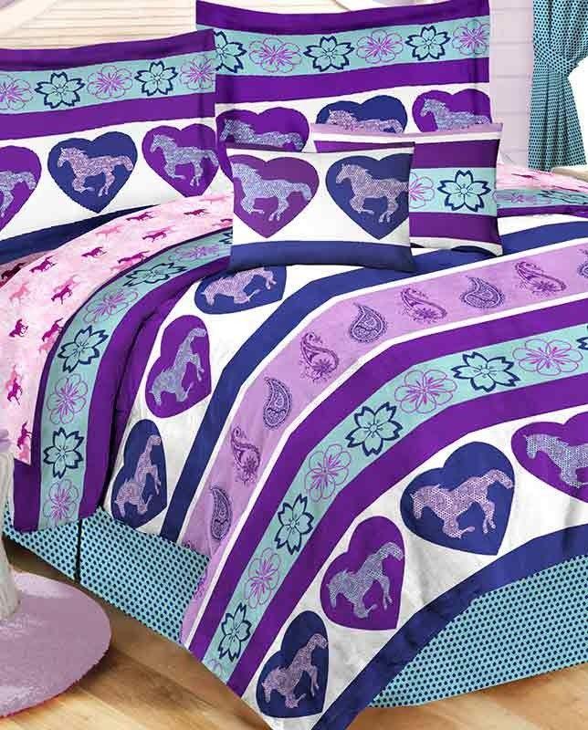 Paisley Pony Twin 6 Piece Bedding Set Hattie Pinterest