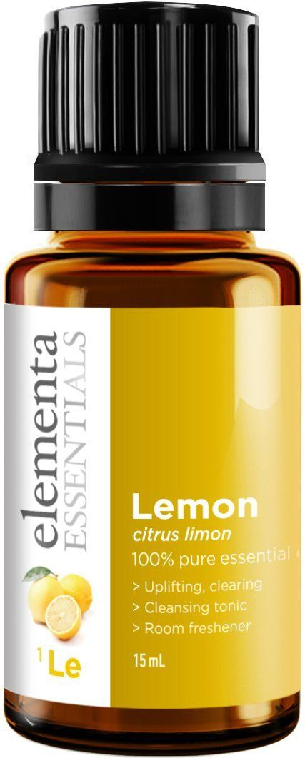Lemon Essential Oil - 100% Pure Therapeutic Grade 15ml (Comparable to DoTerra and Young Living) For Energy Mood Skin Care and Household Use * Startling review available here  : lemon essential oil