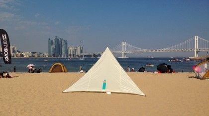 체력충전. 휴식 가득한 광안리 소풍. gwangan beach picnic