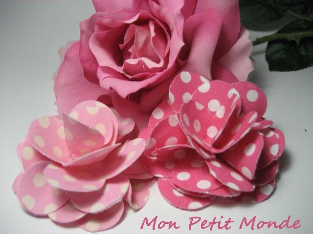 Flor para traje flamenco en Rosa