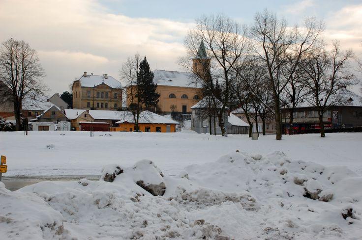 rok 2011 kostel od Radbuzy