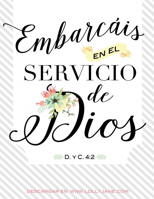 15 best LDS Spanish Printables + Quotes images on Pinterest