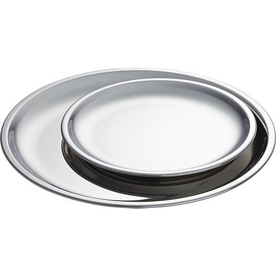 stainless steel plates  | CB2