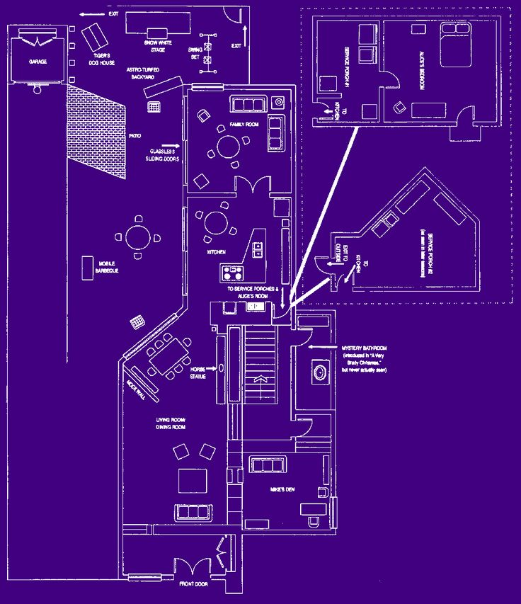 brady bunch house blueprints i so want this house. Black Bedroom Furniture Sets. Home Design Ideas