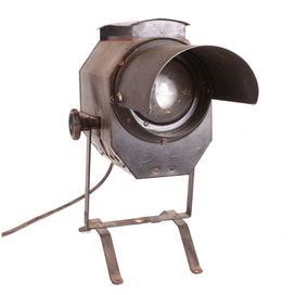 """""""Acquired from a 1920s Copenhagen theater, this vintage spotlight adds a touch of heirloom-worthy charm to your console, bookshelf, or credenza."""" Love this!"""