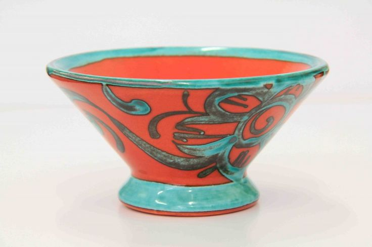 Sarah-May Baxter - Small Cone Bowl  ceramics 13.5cm diameter