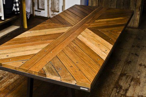 Cupboards Kitchen and Bath: Friday Find - Uhuru Boardwalk Table