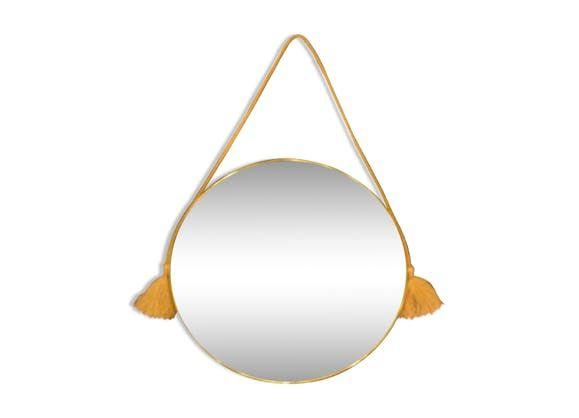 gallery of miroir cuivre with miroirs maison du monde. Black Bedroom Furniture Sets. Home Design Ideas