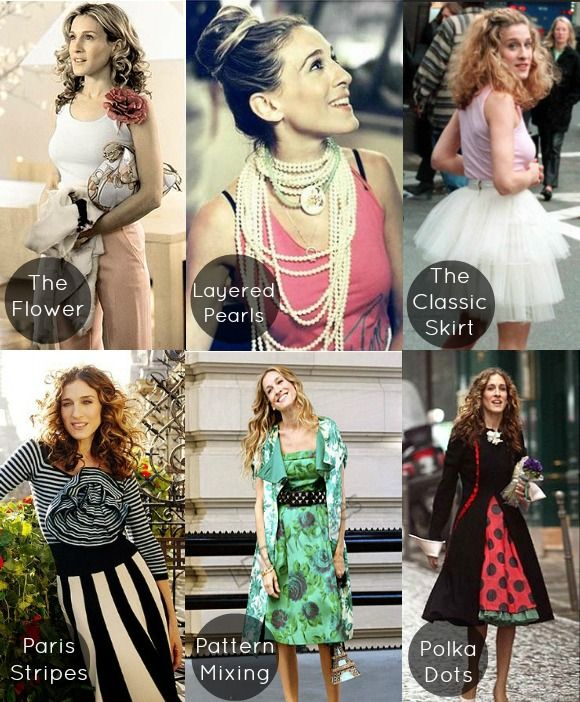 Sex and the City: Best Carrie Bradshaw Looks