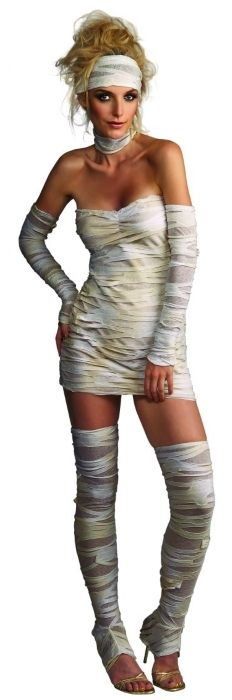 Mummy Costume | Halloween Costume | Halloween Party Supplies and Decorations
