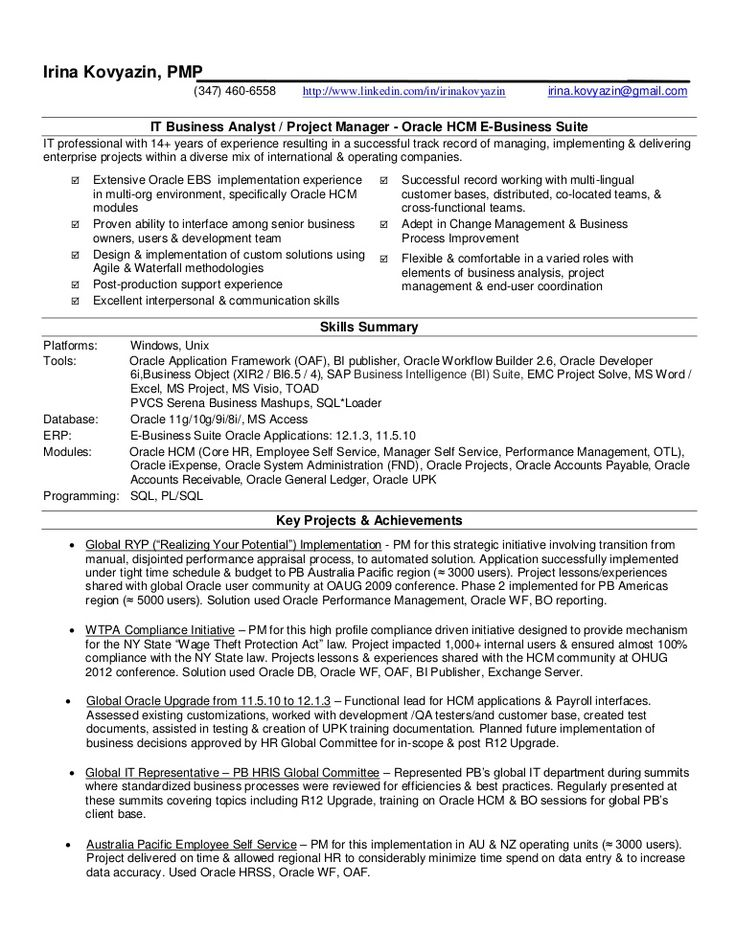 Sap Hr Us Payroll Resume - Experts' opinions