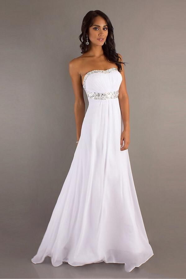 1000  ideas about White Sparkly Dress on Pinterest  Sparkly ...
