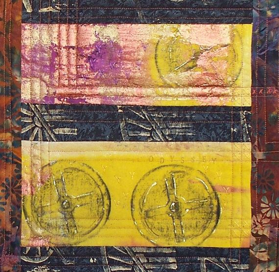 art quilt odyssey by gonerustic on Etsy