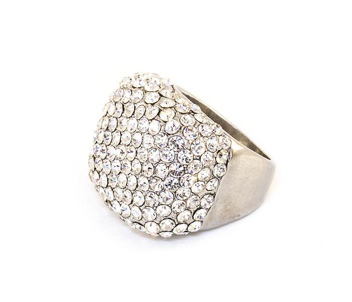 Bizsu Gyűrűk Larissa ezüst