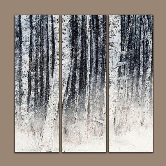 Alberi di betulla  arte dell'albero di betulla  betulla