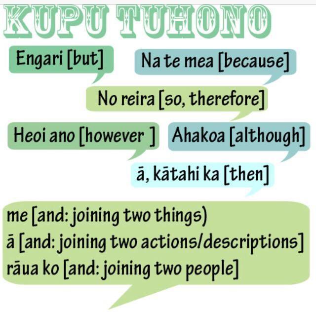 Loving these kupu tuhono!! #reoathon2015
