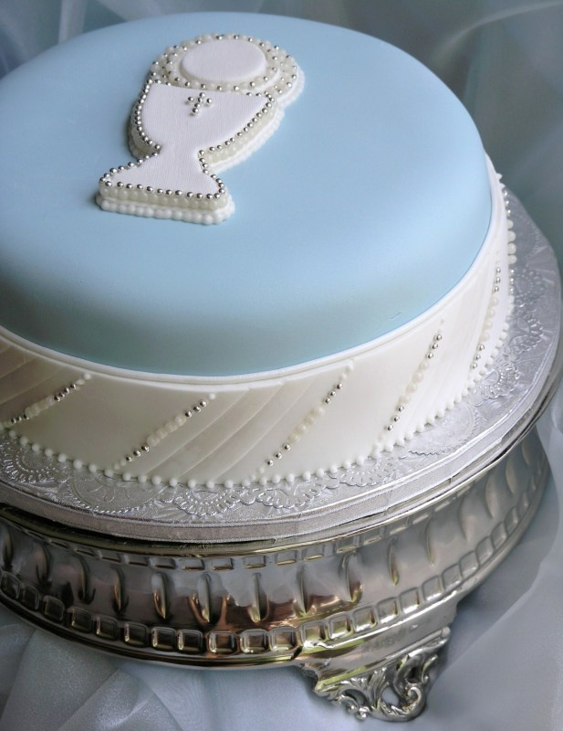 chalice in bleu - Sugar Realm, Fine Bakery & Cake Design