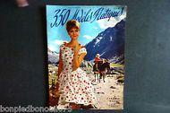 350 Modèles Pratiques Eté 1961 n°65 France Modes HERBILLON.Edité en Belgique