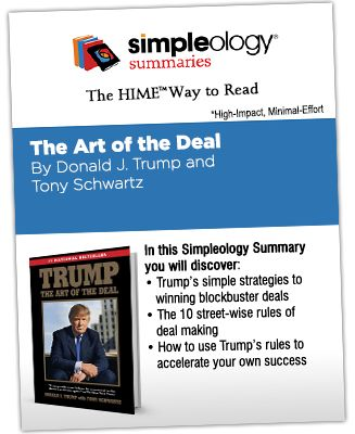 The Art of the Deal - Simpleology Summary