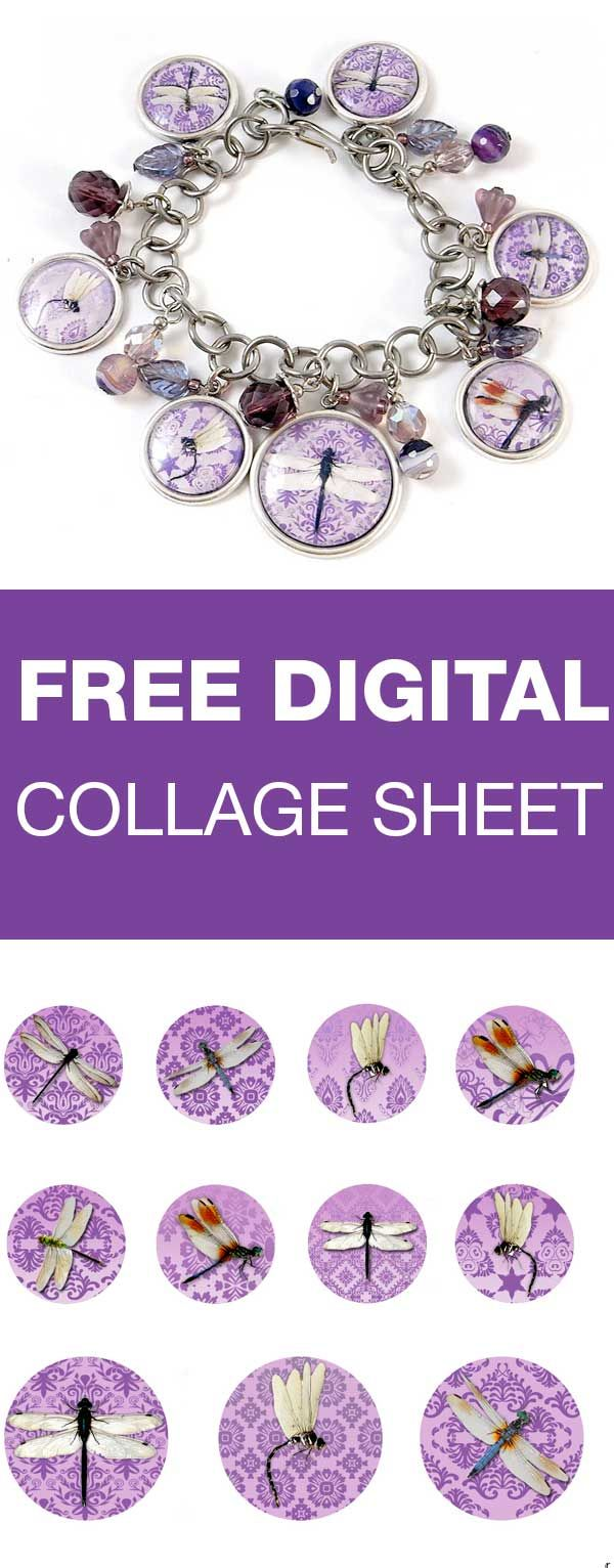 Download, print, create - Digital Collage sheet are free for personal projects and small commerical use | beadingtutorials.com.au