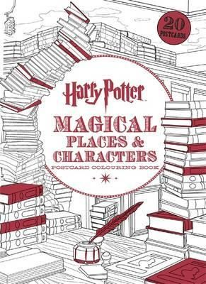 Harry Potter Magical Places Characters Postcard Colouring Book By Warner Brothers Available At Depository With Free Delivery Worldwide