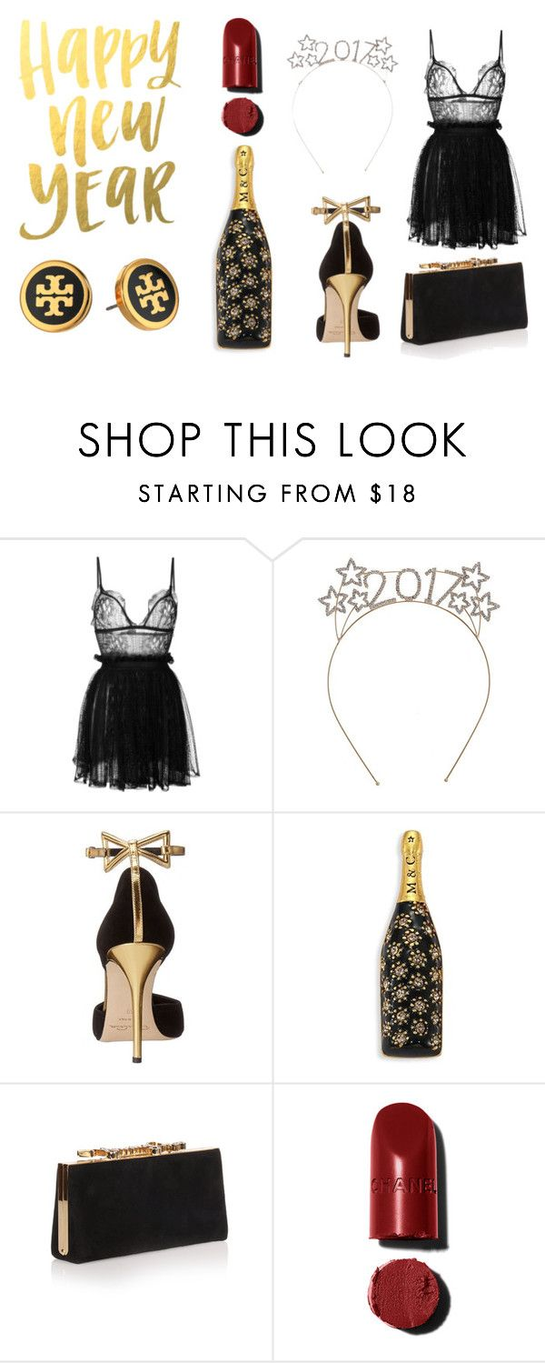 """2017"" by kelsiecloe on Polyvore featuring Alexander McQueen, Oscar de la Renta, Marc Jacobs, Jimmy Choo and Tory Burch"