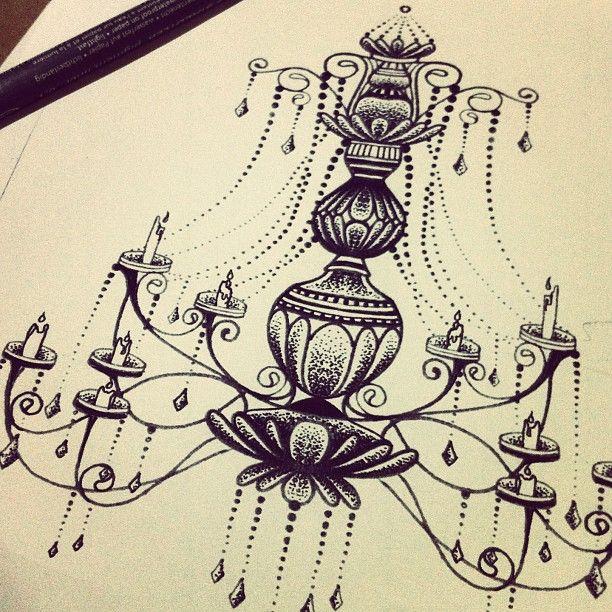Candelabra <3 | Tattoo | Pinterest | Tattoo, Black and Piercings