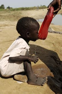 Never complain about what you don't have....... A Drink of Water