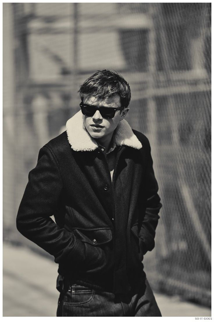 Dane DeHaan Covers So It Goes Magazine image Dane DeHaan So It Goes 2014 Photo Shoot 005