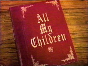 Image result for All My Children Opening Book