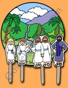 FOLLOW JESUS: Primary CTR-A, Lesson 4, Primary 2 manual, I Chose to Follow Jesus Christ, Primary Lesson Helps, family home evening, Sunday S...