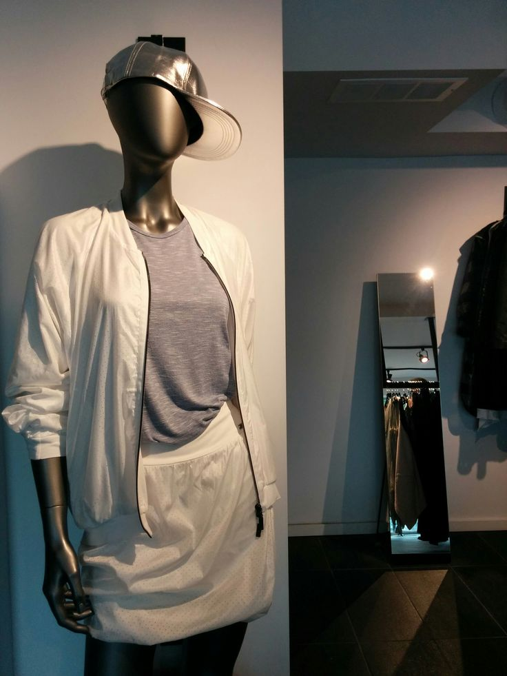 Therapy has all the bases covered in this baseball jacket and skirt. Only one of these outfits available in the store.