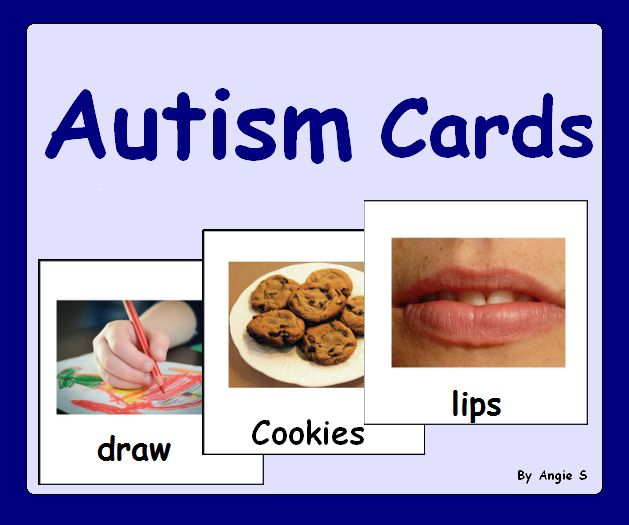 Autism Bundle - Printable Communication Cards for Autism, ABA, Speech Therapy For more resources follow https://www.pinterest.com/angelajuvic/autism-special-education-resources-angie-s-tpt-sto/