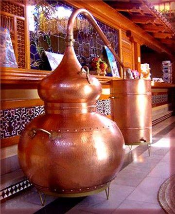 80 Gallon (300 Liter ) Alembic Copper Still - Mile Hi Distilling